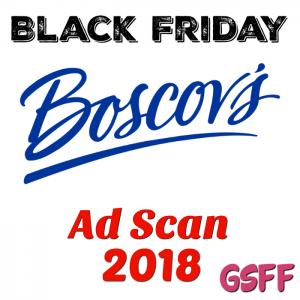 Boscov's Black Friday 2018 Ad Scan!