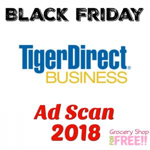 TigerDirect Black Friday 2018 Ad Scan!