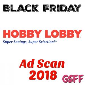 Hobby Lobby Black Friday 2018 Ad Scan!