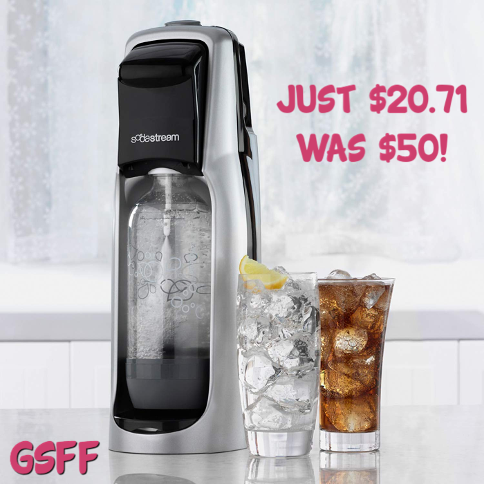 SodaStream Jet Sparkling Water Maker Just $20! Down From $50!