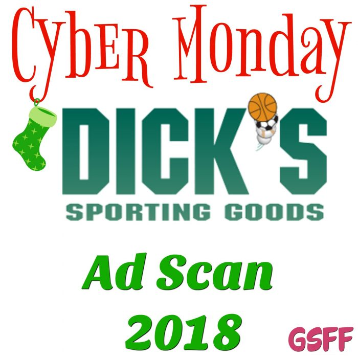 Dick's Sporting Goods Cyber Monday Deals 2018!