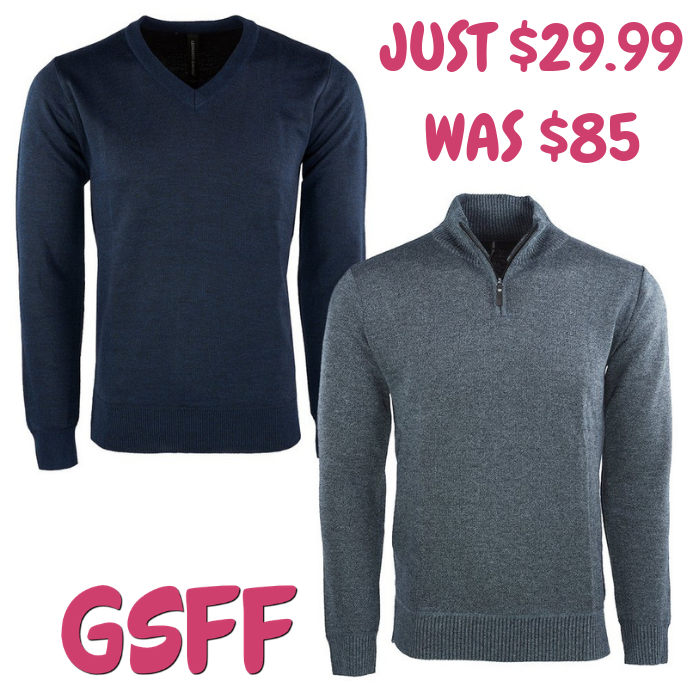 Men's Sweater 2-Pack