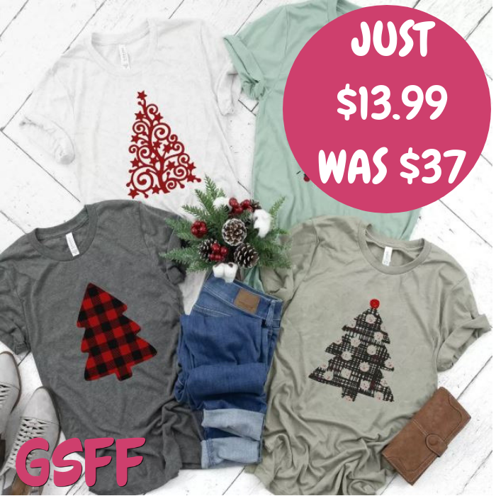 Holiday Tree Tees