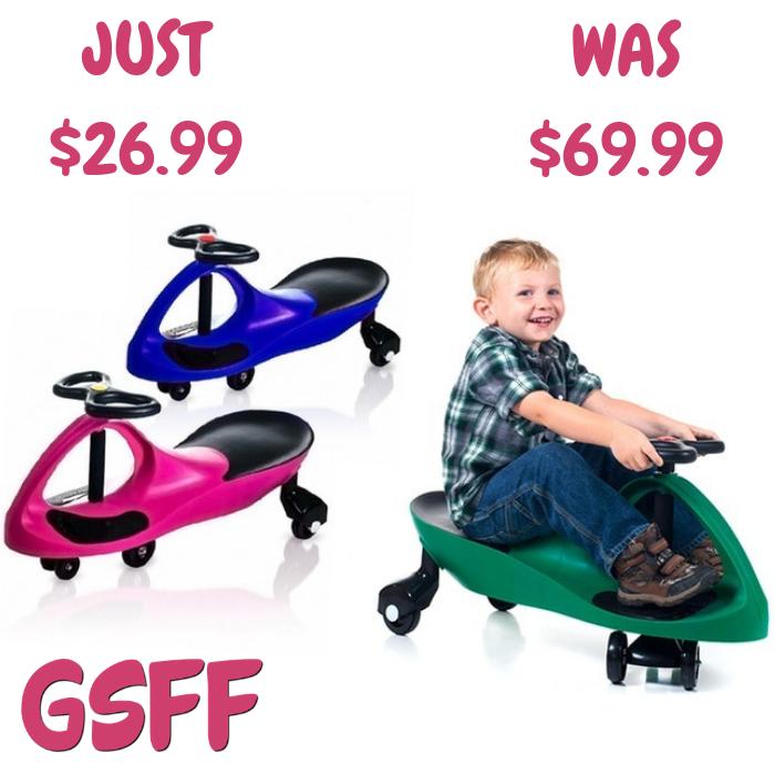 Lil' Rider Wiggle Car