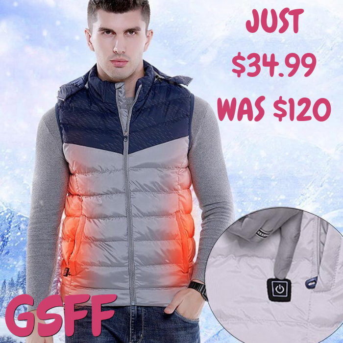 Men's Heating Vest