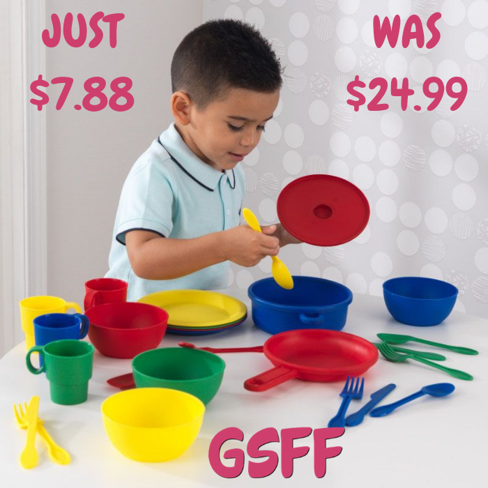 KidKraft 27-Piece Cookware Playset