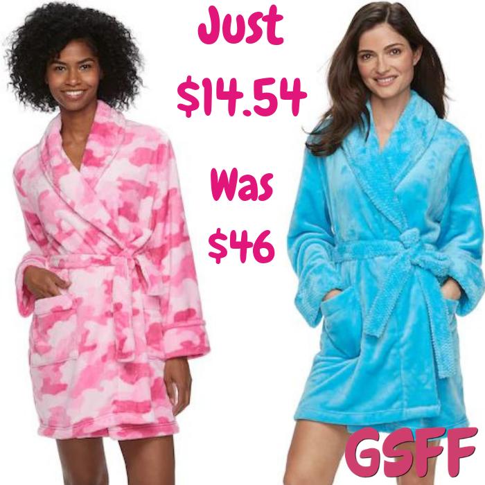 Women's Plush Robes