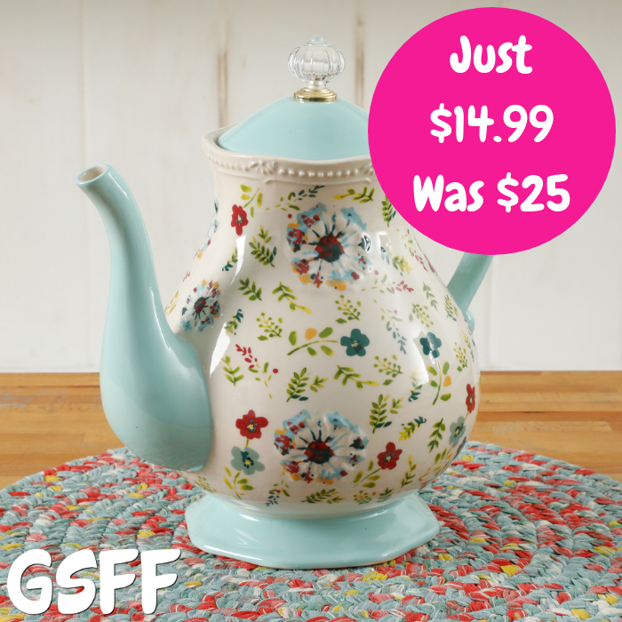 The Pioneer Woman Tea Pot