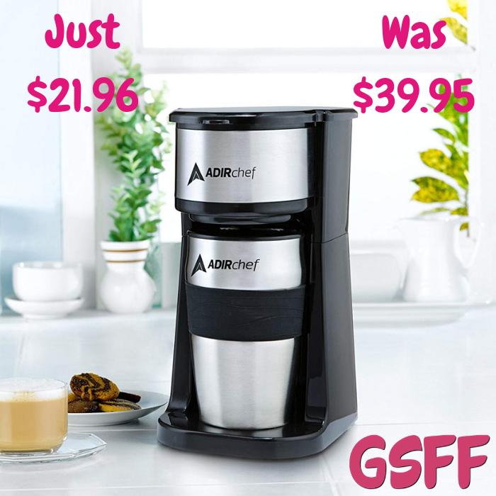Coffee Maker With Mug