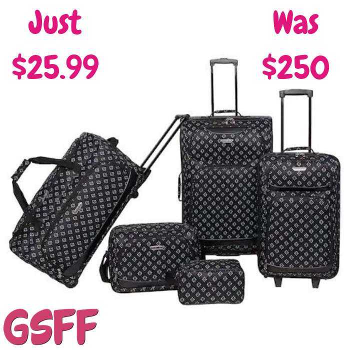 Prodigy 5-Piece Luggage Set