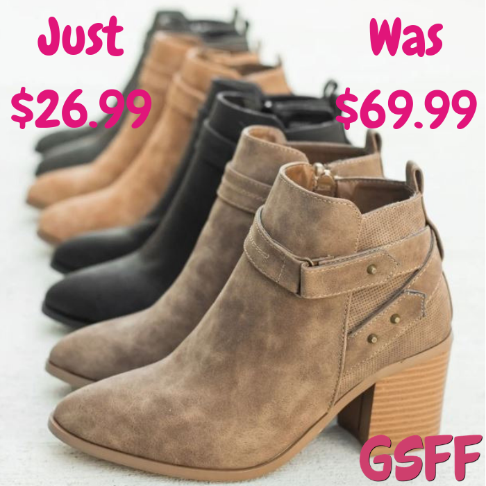 Fashion Booties