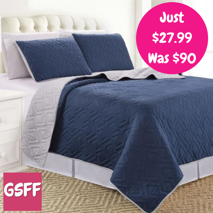 3-Piece Bed Cover