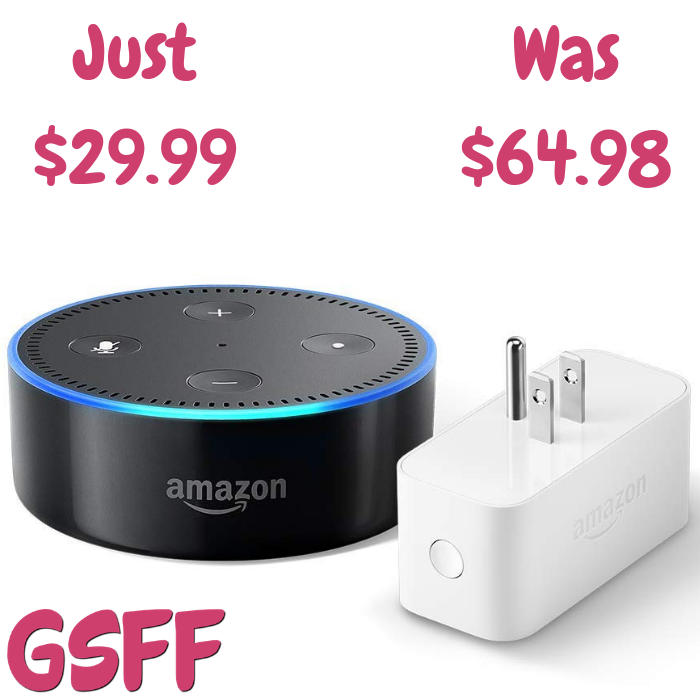 Echo Dot With Amazon Smart Plug