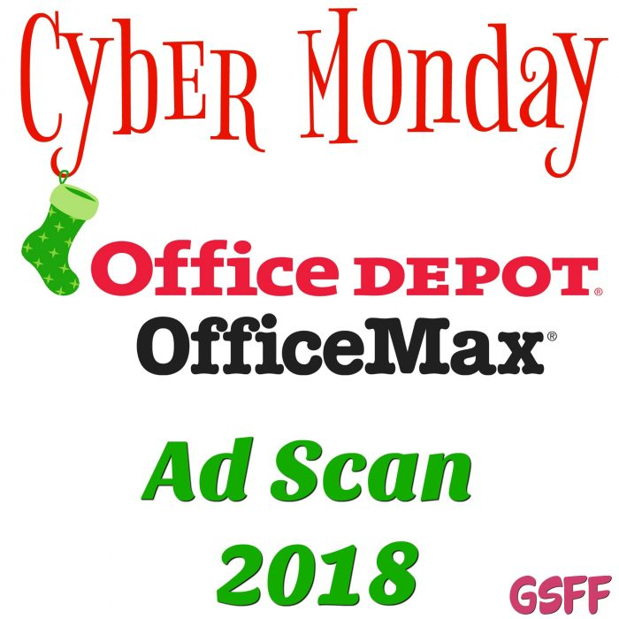 Office Depot/Office Max Cyber Monday Deals 2018!