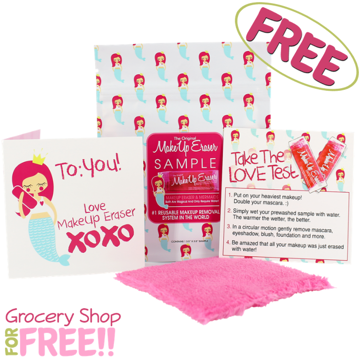 FREE The Original Makeup Eraser Sample! PLUS FREE Shipping!