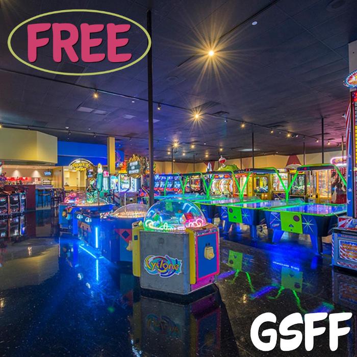 FREE $20 Arcade Play Credit!