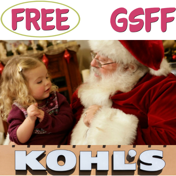 FREE Santa Picture & FAO Schwartz Surprise At Kohl's!