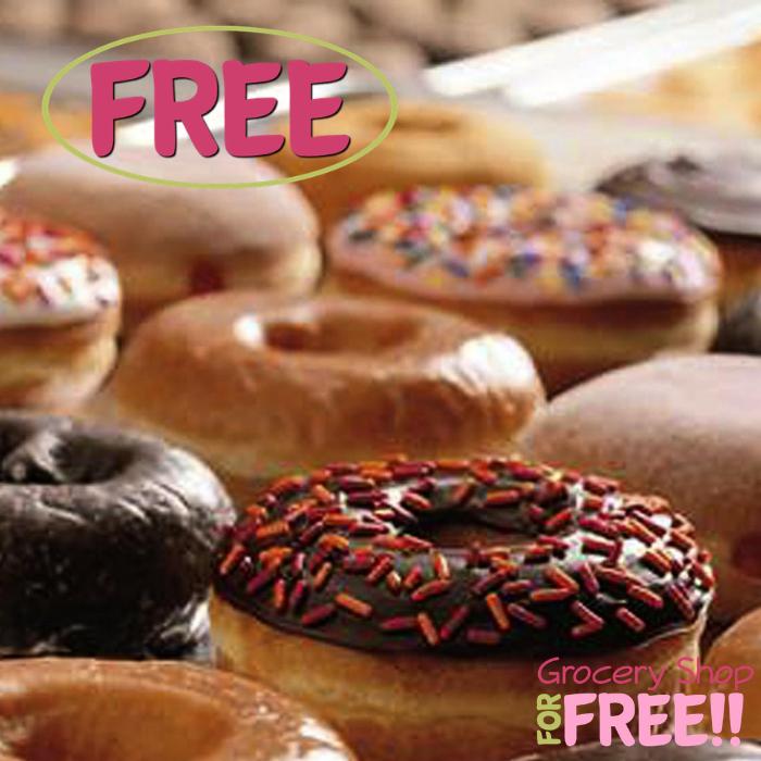 FREE Donut At Dunkin' Donuts!