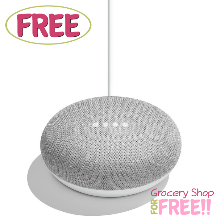 FREE Google Home Mini!