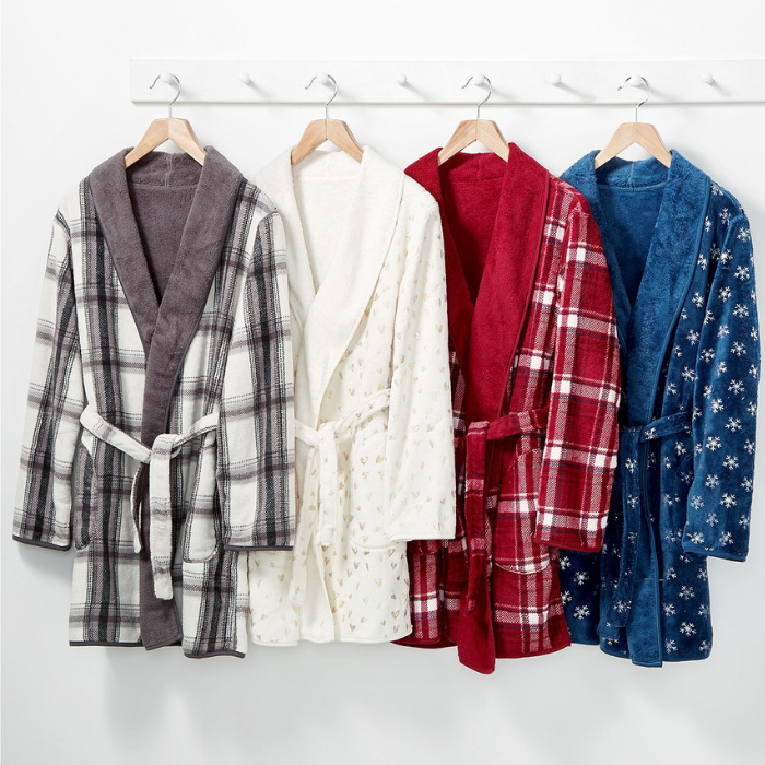 Martha Stewart Plush Robe