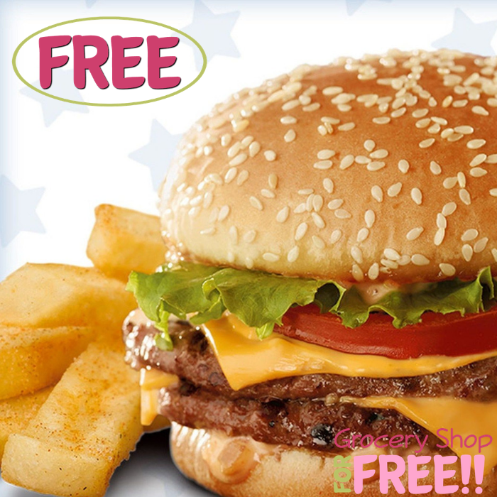 FREE Double Burger & Steak Fries At Red Robin!