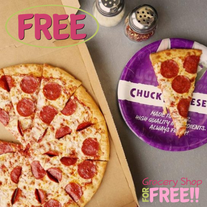 FREE Chuck E. Cheese's Personal Pizza!