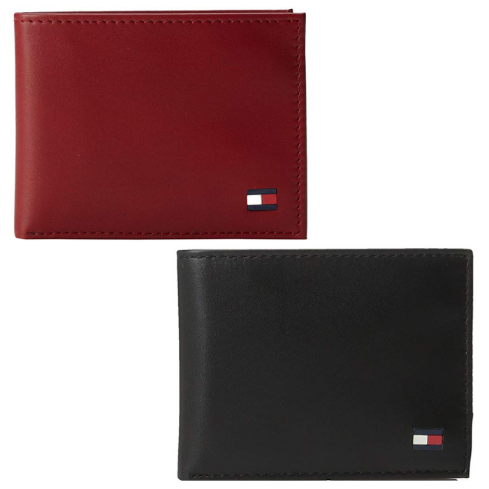 Tommy Hilfiger Men's Leather Wallet 2-Pack