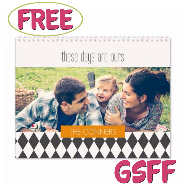 FREE Personalized Photo Calendar At Target!