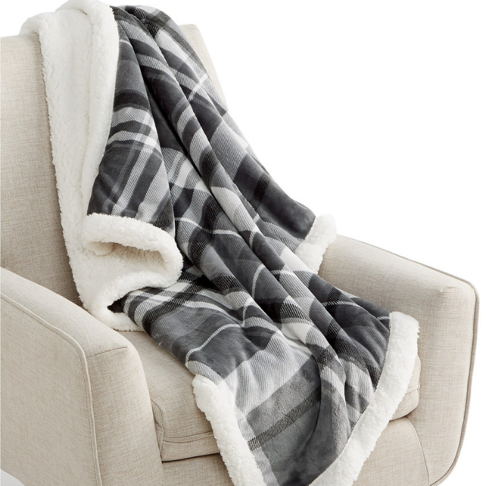 Martha Stewart Plush Throw
