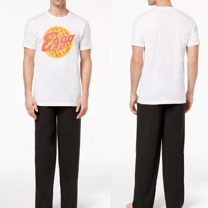 Men's Waffle Pajama Set