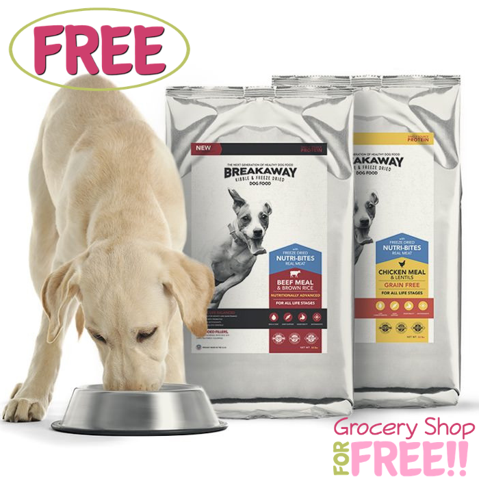 FREE Texas Mills Breakaway Dog Food Sample!