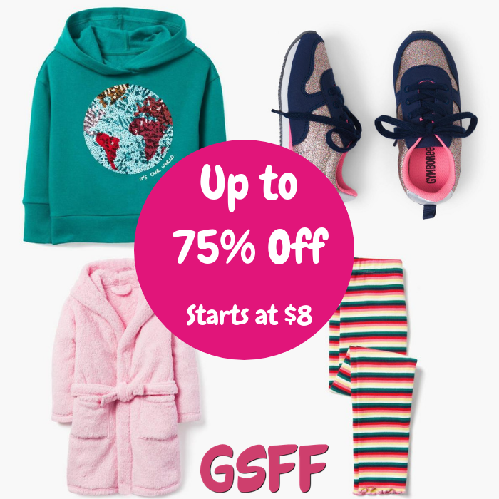 Up To 75% Off New Arrivals On Kids Clothes