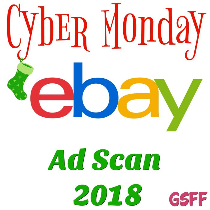 eBay Cyber Monday Deals 2018!