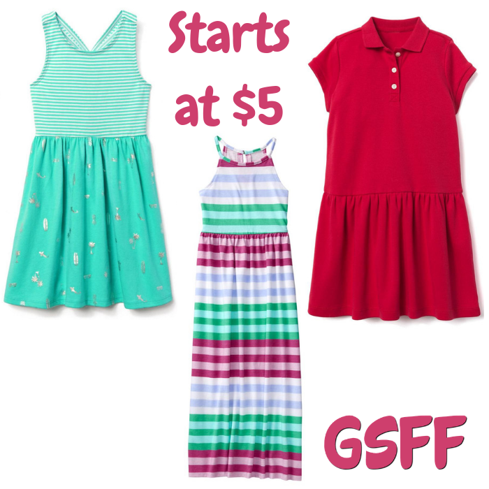 Kids Dresses Starts At $5
