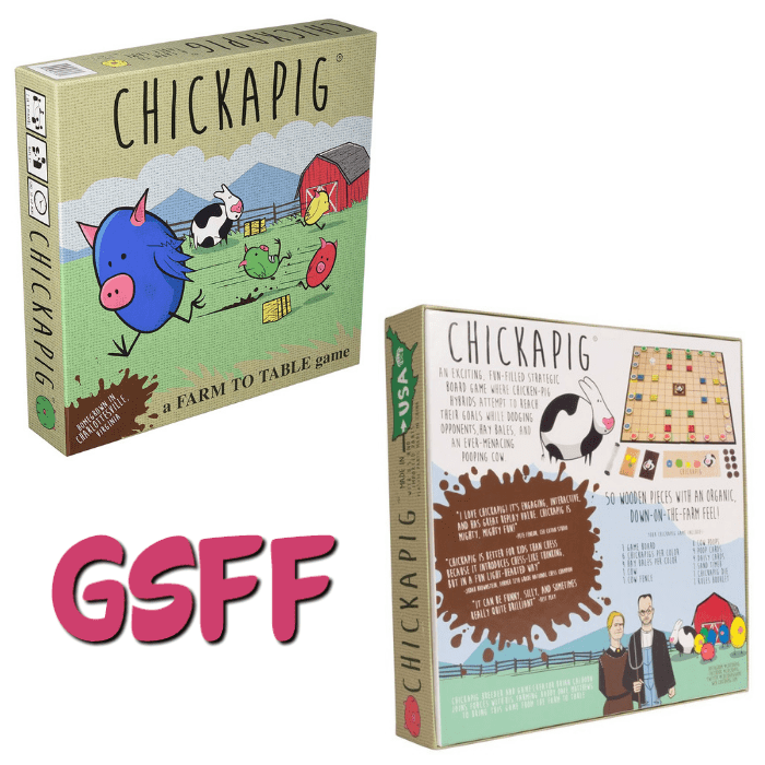 Beat The Boredom And Have Fun With The Family During New Year's Eve With The Chickapig Board Game!