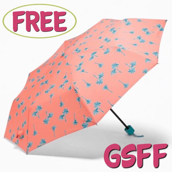 FREE Old Navy Printed Umbrella!