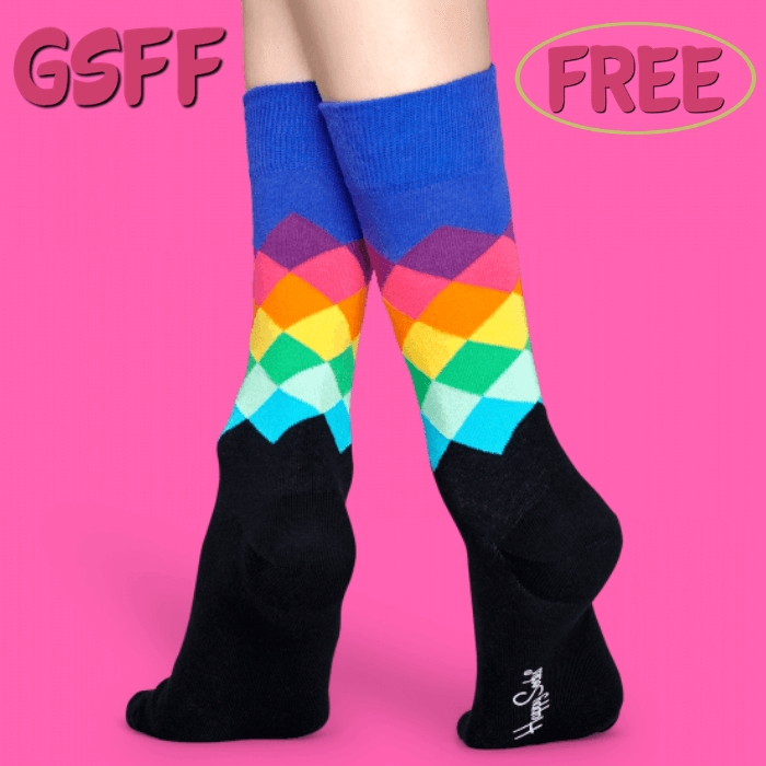 FREE $10 Off HappySocks!