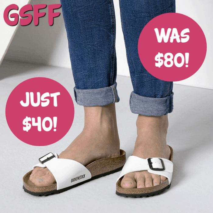 Birkenstock Madrid Birko-Flor Sandals Just $40! Down From $80! FREE Shipping!