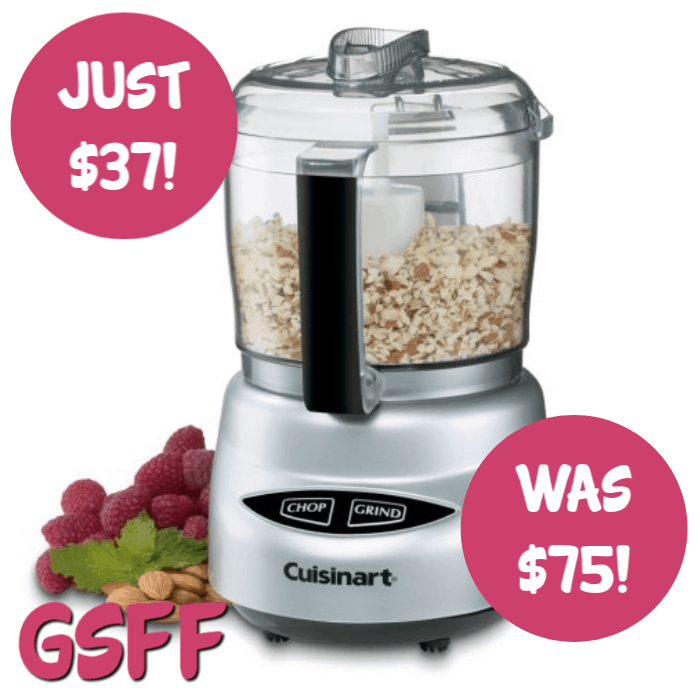 Cuisinart Mini Prep Plus Food Processor Just $37! Down From $75! PLUS FREE Shipping!