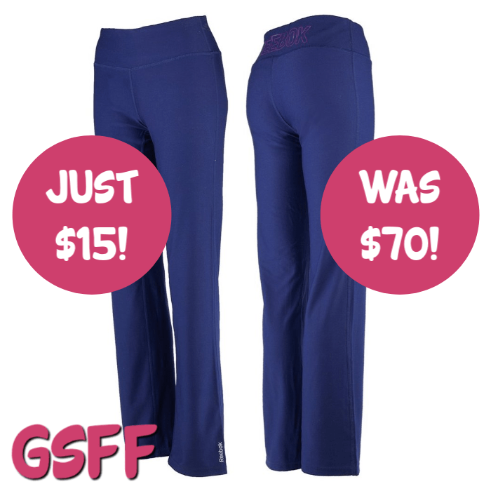 Reebok Women's Lean Running Pants Just $15! Down From $70! PLUS :fr: Shipping!