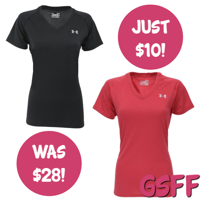 Under Armour Women's UA Tech V-Neck T-Shirt Just $10! Down From $28! FREE Shipping!