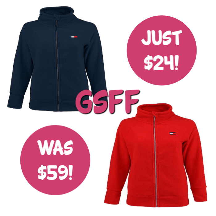 Tommy Hilfiger Women's Sport Fleece Jacket Just $24! Down From $59! FREE Shipping!
