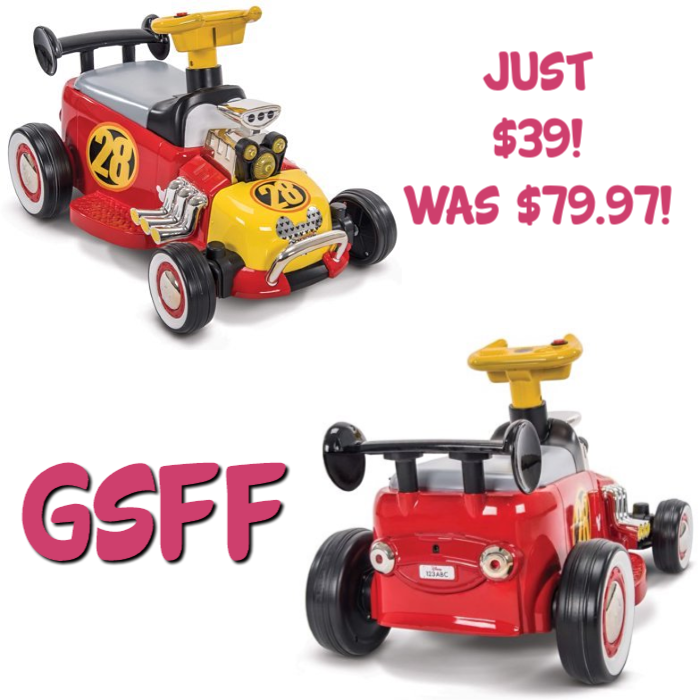 Disney Mickey Boys' Battery-Powered Ride-On Quad Just $39! Down From $80! Shipped!