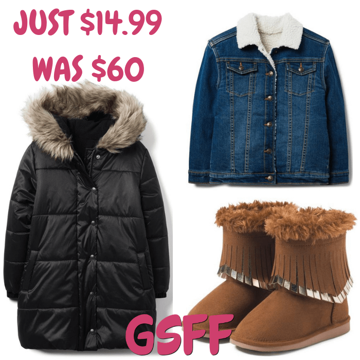 Kids Jackets & Shoes