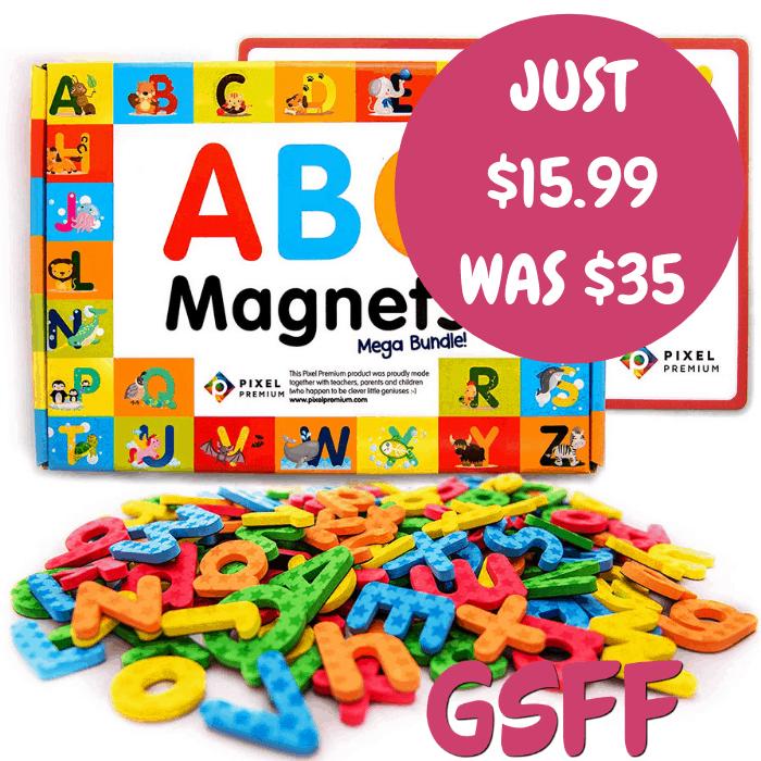 ABC Magnets 142-Piece Set