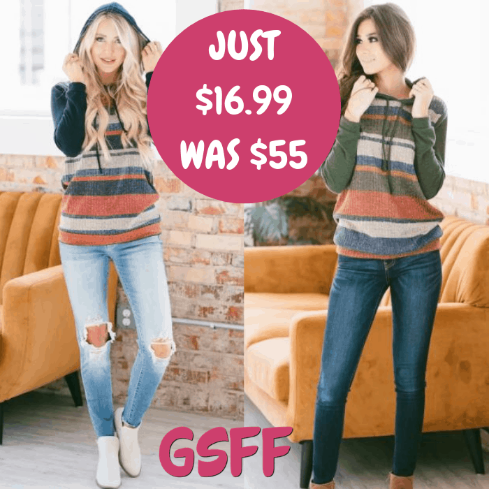 Fenton Striped Pullover