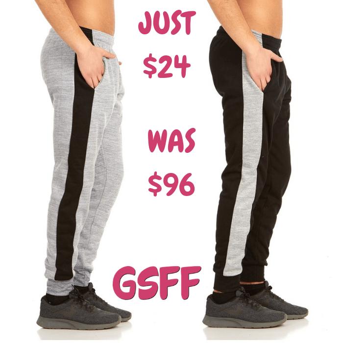 Men's Jogger Pants 2-Pack