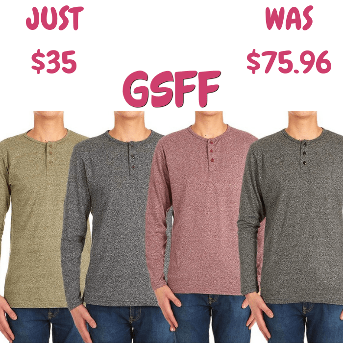Men's Shirt 4-Pack