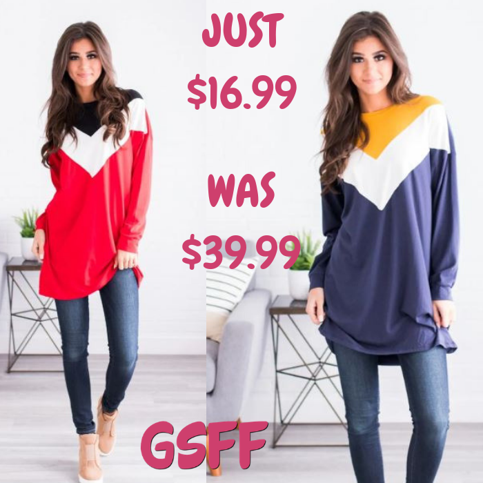 Danna Colorblock Tunic