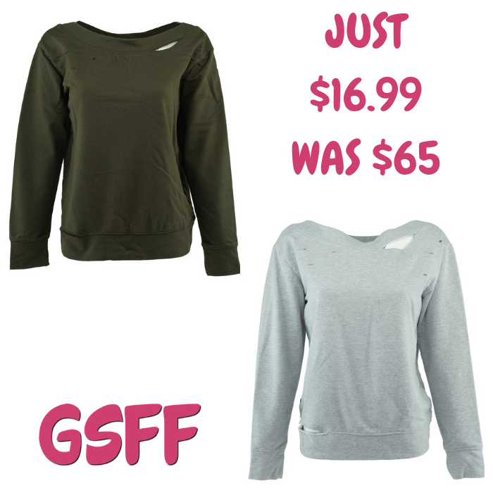 Women's Boatneck Sweatshirt